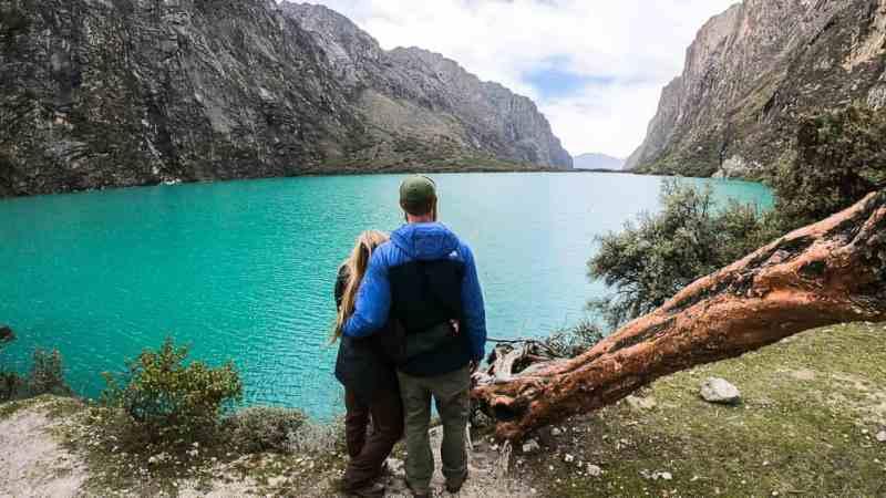 Quinuacocha Lake huascaran national park