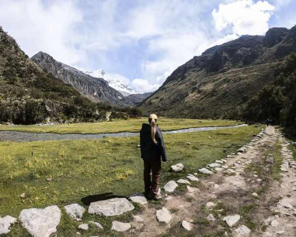 cordillera blanca huascaran national park