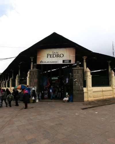 Outside of the San Pedro Marketplace