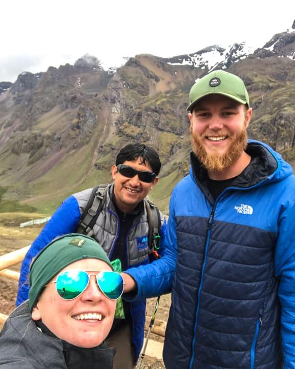 percy montestravel rainbow mountain trek