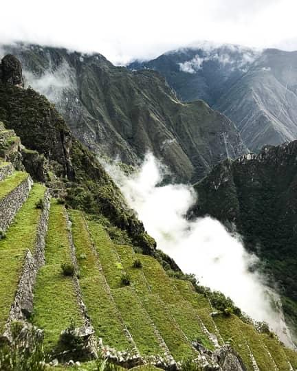 machu picchu rice terraces