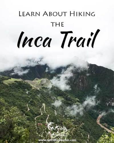 hiking the classic inca trail to machu picchu