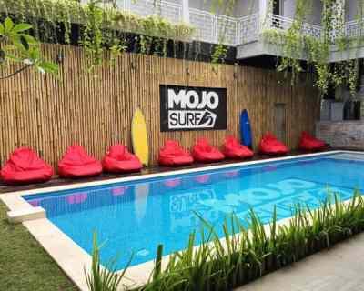Where to stay in Canggu: MojoSurf Camp