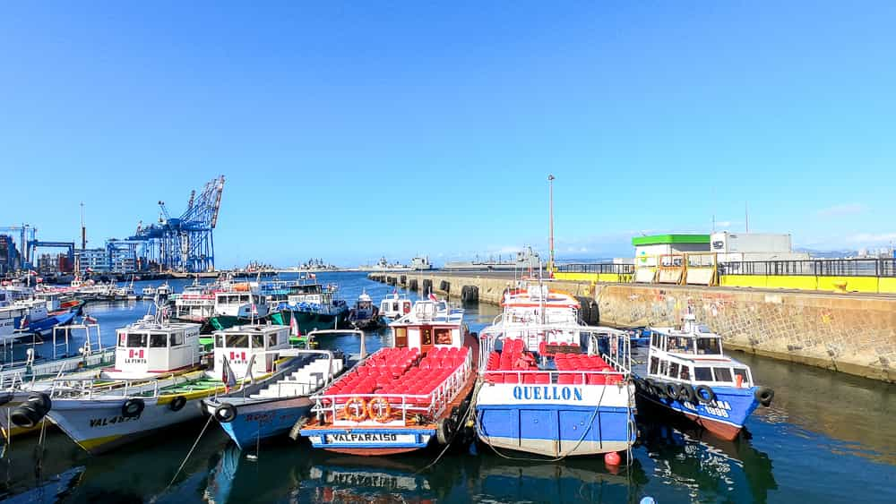 Valparaíso 2 Day Guide: Boat Tour