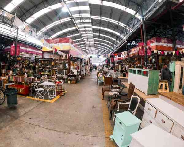 Best things to do in Buenos Aires: El Mercado de las Pulgas