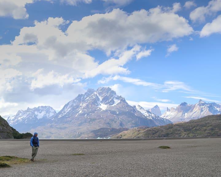 Torres del Paine Day Trip: Lago Grey