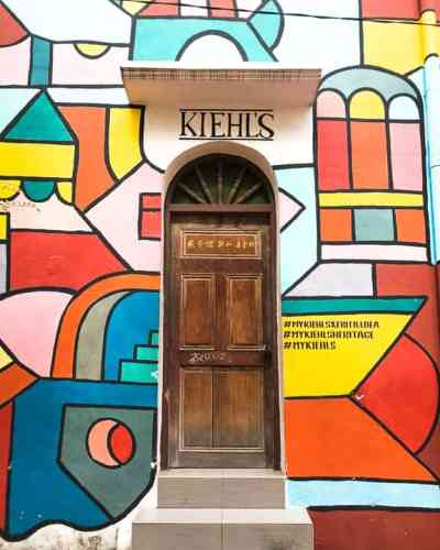 Day Trip to Malacca: Kiehl's Heritage Mural