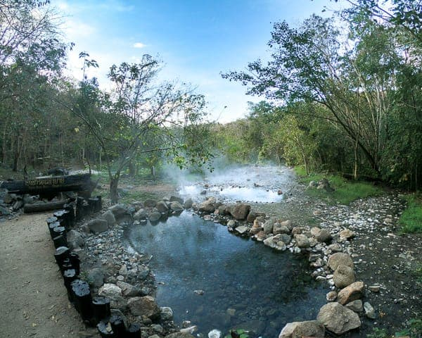 Budget Friendly Things to do in Pai: Hot Springs
