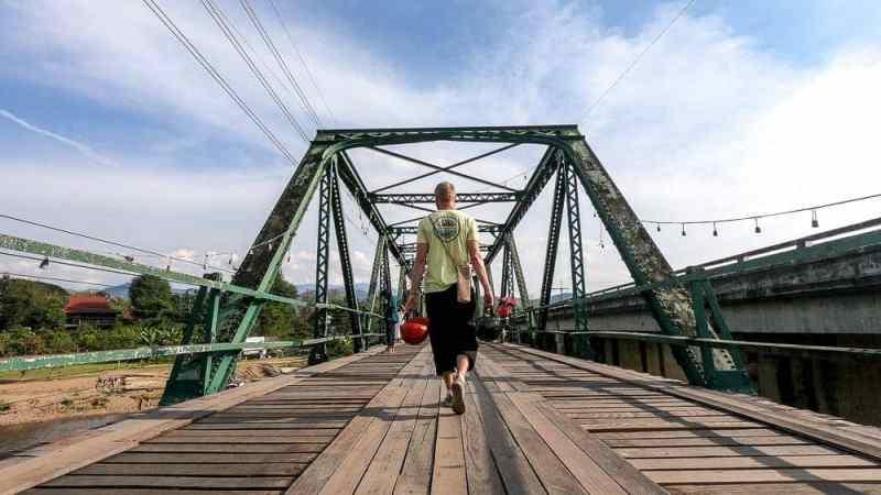 Budget Friendly Things to do in Pai: Memorial Bridge