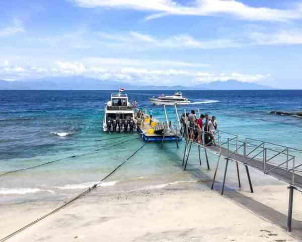 Fast Boat Terminal on Nusa Penida