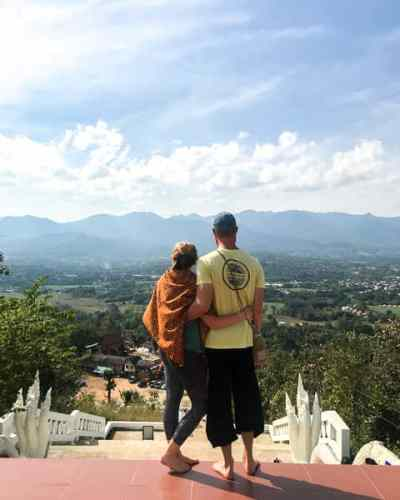 Budget Friendly Things to do in Pai: White Buddah
