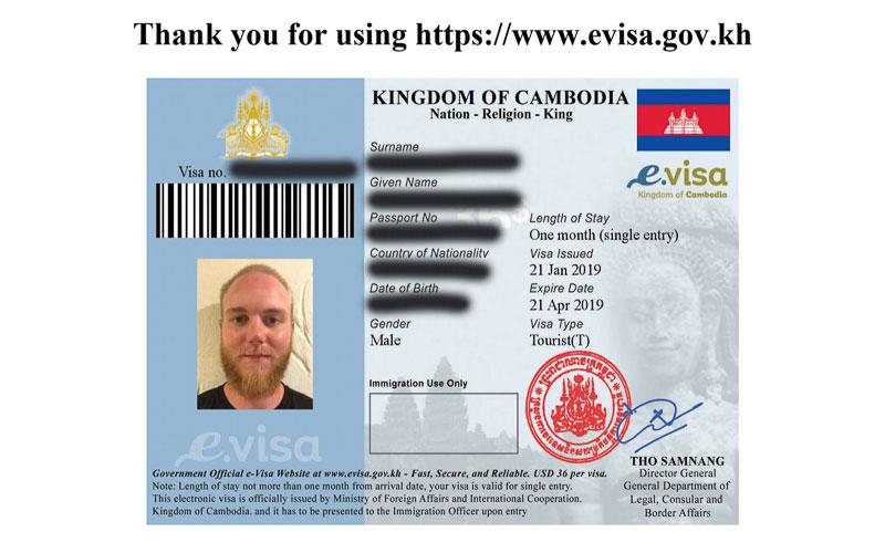 Applying for Cambodia E-Visa