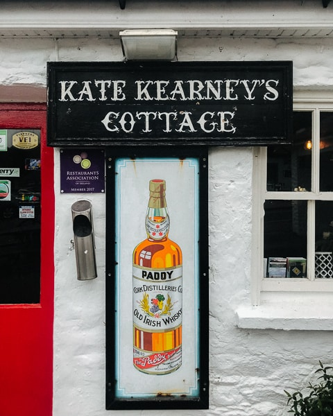 Roadtripping the Ring of Kerry - Kate Kearneys Cottage