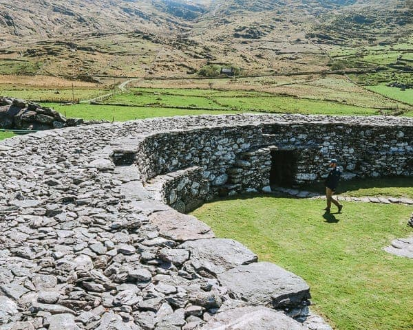 Roadtripping the Ring of Kerry - Loher Stone Fort
