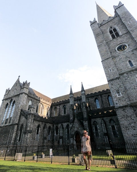 3 day budget guide to Dublin: St Patricks Cathedral