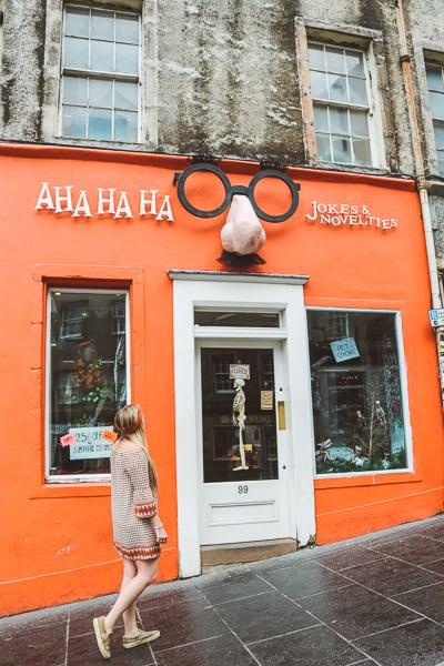 Edinburgh Budget Guide - Old Town