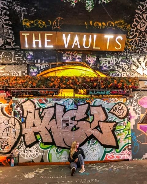Budget Guide London Cheap things to do - Vaults Theatre