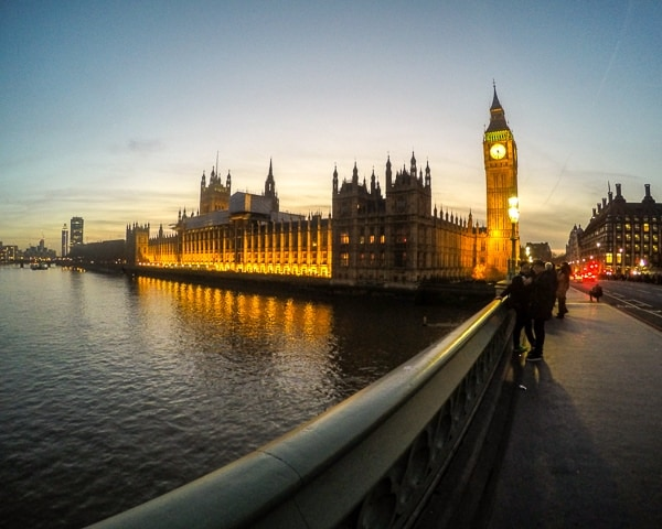 Westminster Abbey & Big Ben in 2016