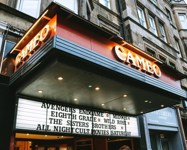 Cheap things to do in Edinburgh - Cameo Picturehouse