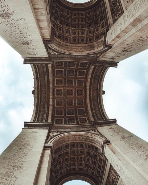 Best things to do in Paris: Arc de Triumph