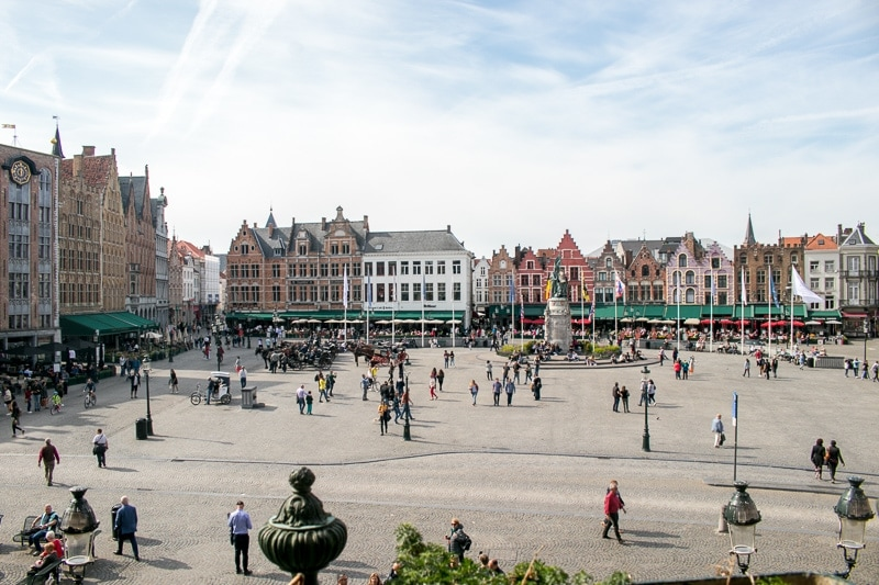 Bruge on a Budget - Cheap things to do in Bruges - Markt Square