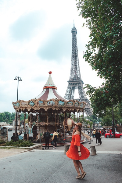 3 Day Budget Guide Paris: Best Instagram Spots Eiffel Tower Stairs at Trocadero Gardens