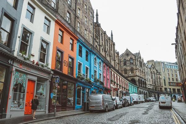 Free Harry Potter UK - Victoria Street Edinburgh
