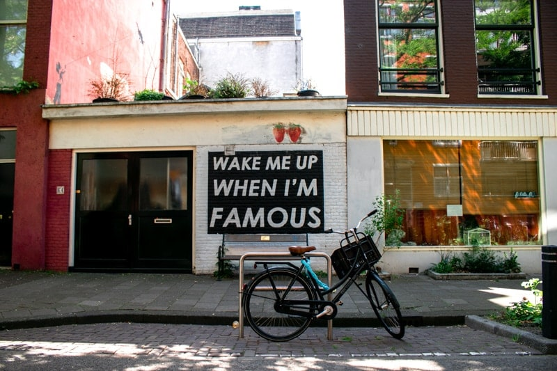 Cheap things to do in Amsterdam - Street Art in Amsterdam