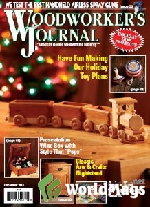 & Leisure time, Travel : Woodworker's Journal - December 2014 PDF