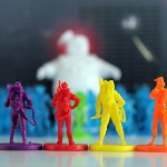 ghostbusters figures from the board game