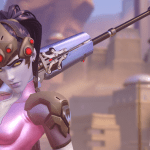 widowmaker character from overwatch select screen
