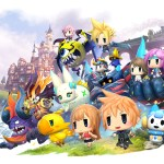 a collage of final fantasy chibis