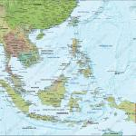 East Asia Map Countries Best Map Collection