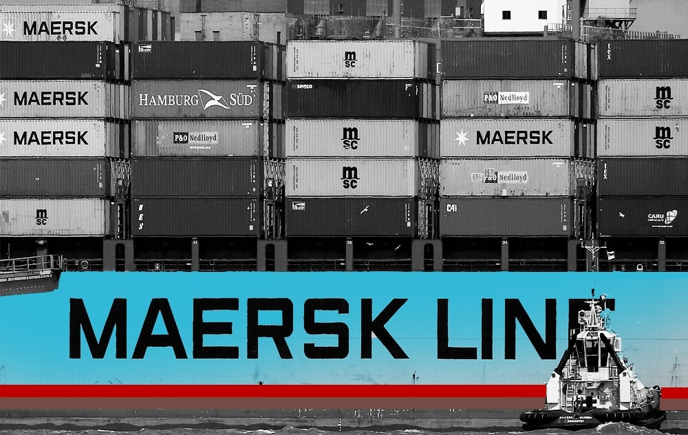 Shipping giant Maersk