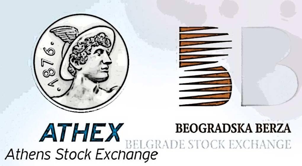 Athex Belex logos