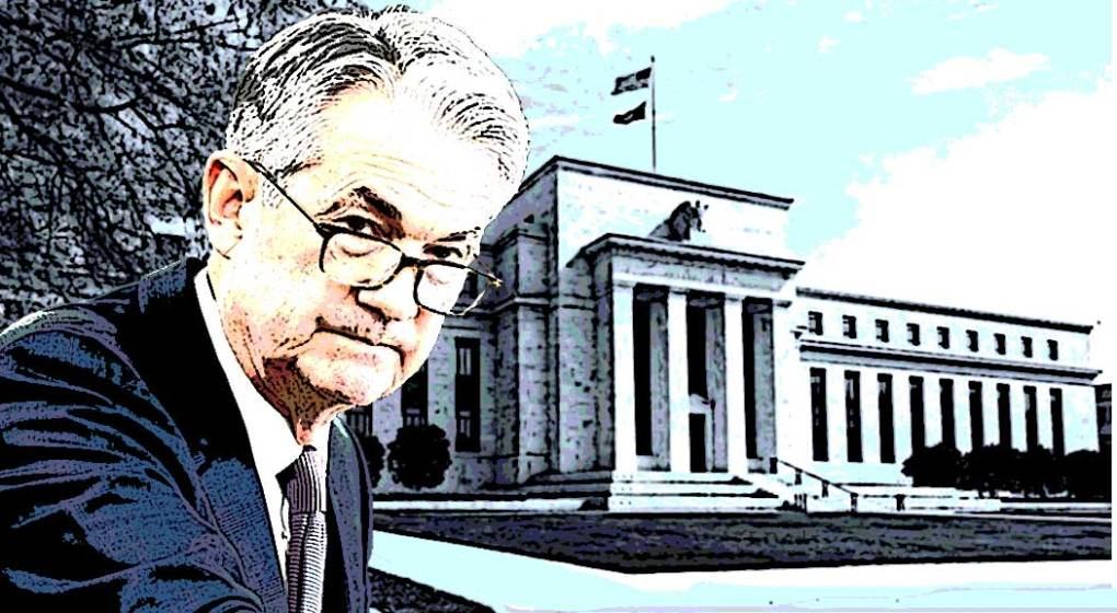 US Federal Reserve Chair Jerome Powell