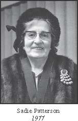 Sadie Patterson
