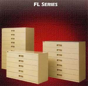Lateral Fiche Cabinet