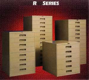 Russ Bassett Microfilm Cabinet