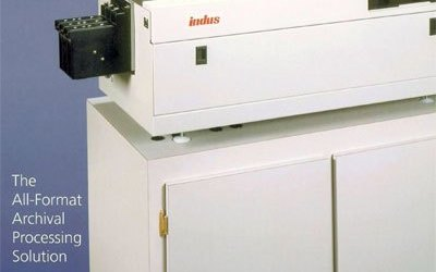 The Indus Microfilm Processor Has Variable Speed Settings