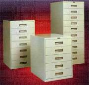 Russ Bassett Microfiche Cabinets Provide High Quality Filing