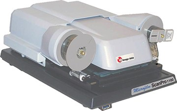Small and Compact Microfilm Scanner