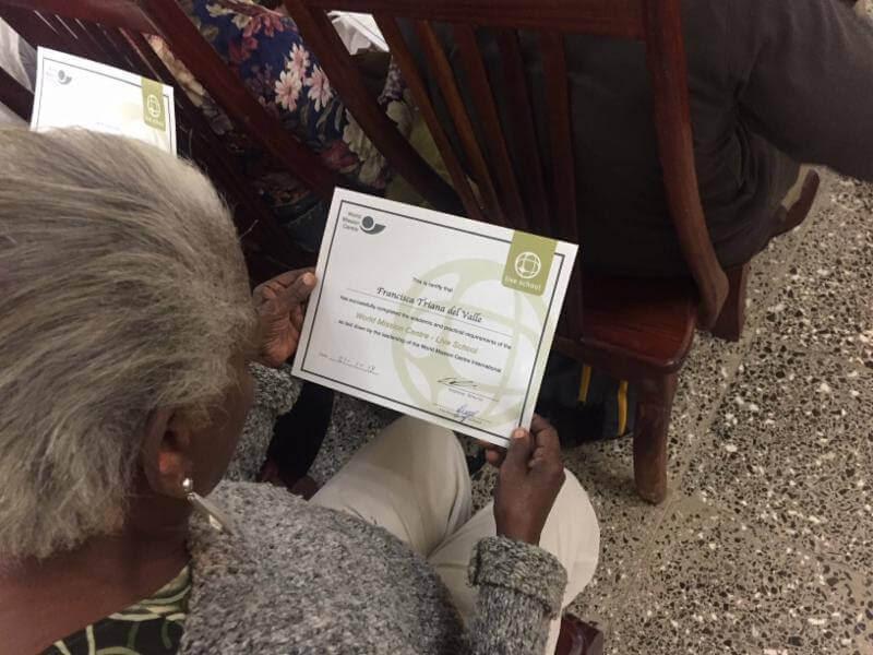 First Cuban Graduates Set Example