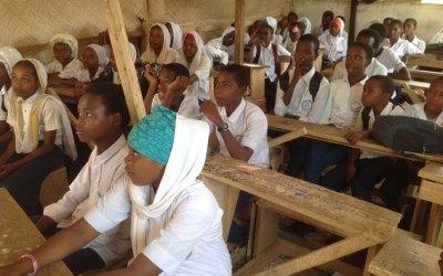 A Christian High School in a Muslim Area
