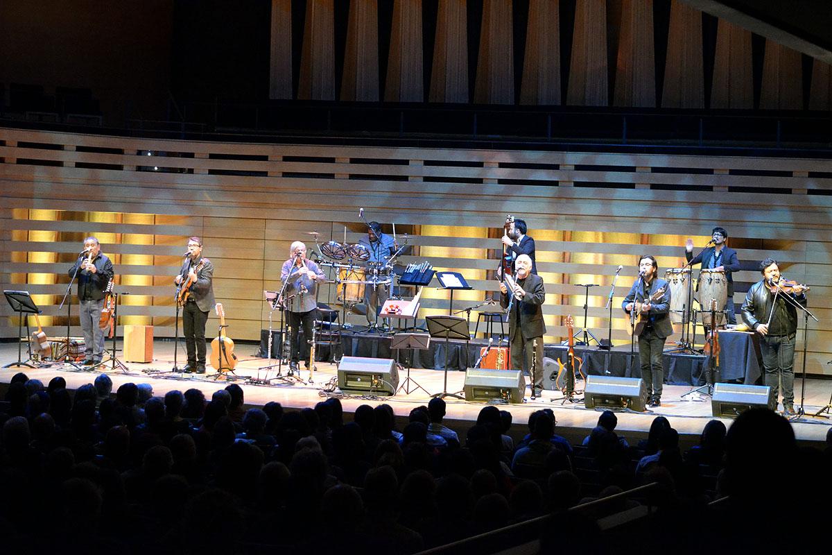 Inti-Illimani In Concert At Koerner Hall, Toronto - Oct 27 2017 10