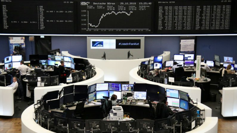 Rising European stocks point to Wall Street futures gains as investors digest German election results