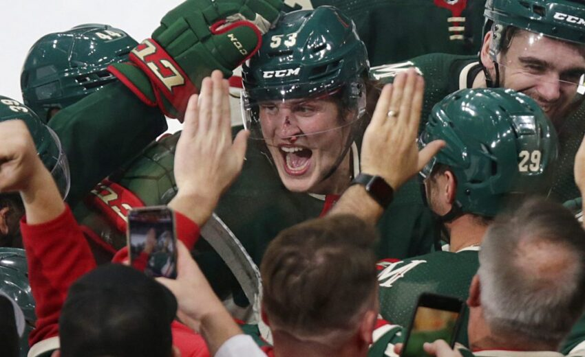 Adam Beckman's quest to make wild continues with Gordy Howe hat-trick