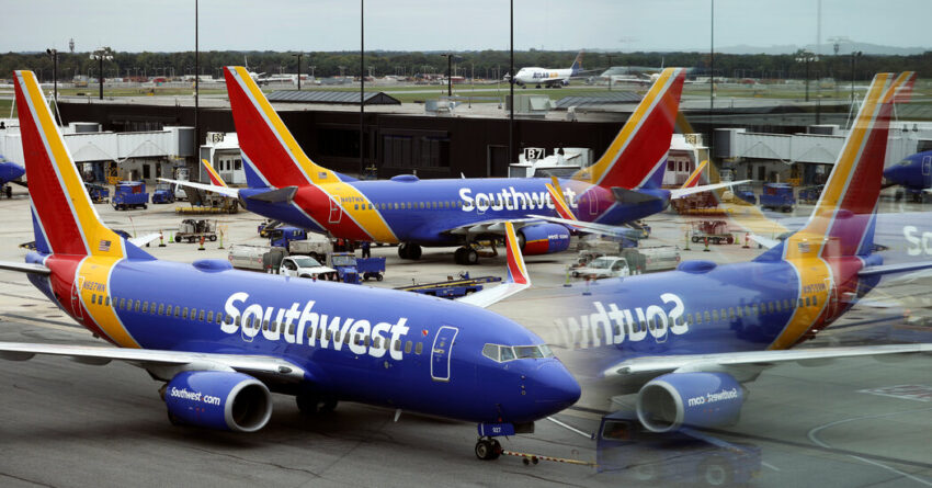 American and Southwest Airlines reject the Texas order banning vaccine mandates.