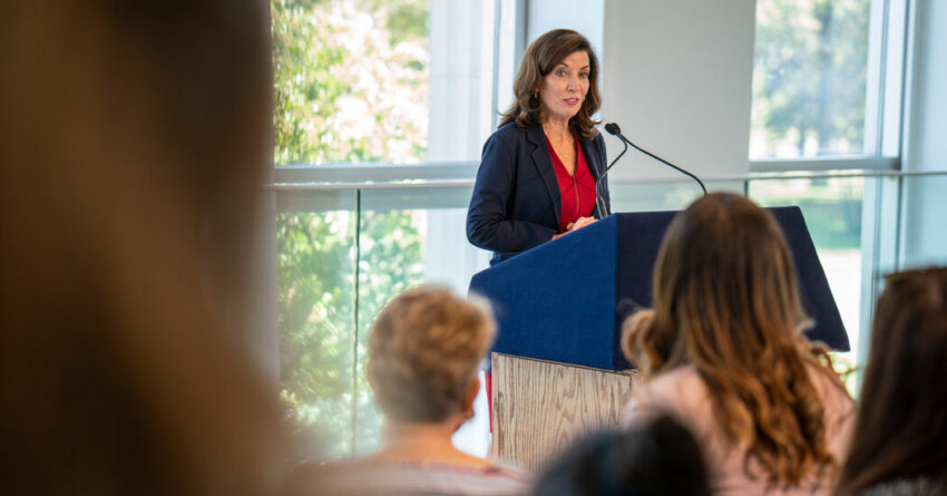 Emily's List Backs Hochul for Governor in Key Early Endorsement