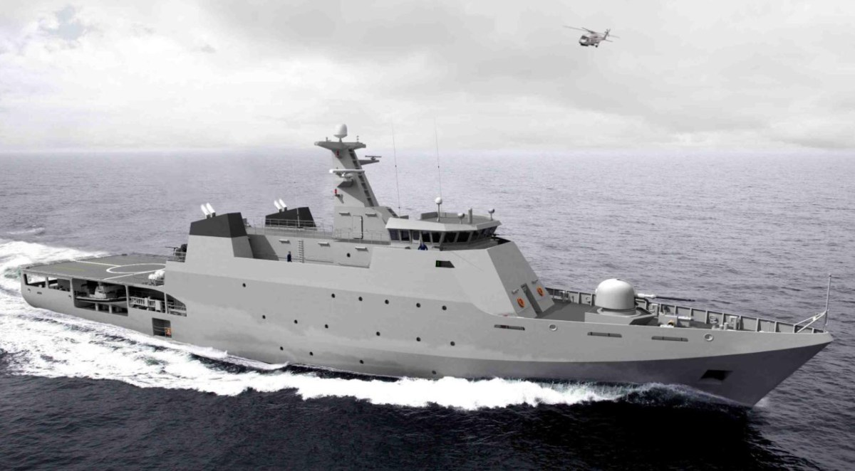 Pakistan;  awarded OPV contract to Damen